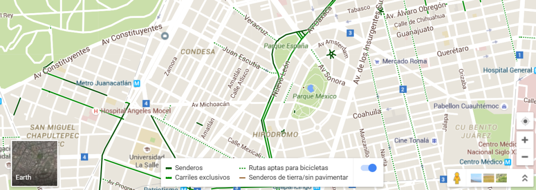 maps for bikes