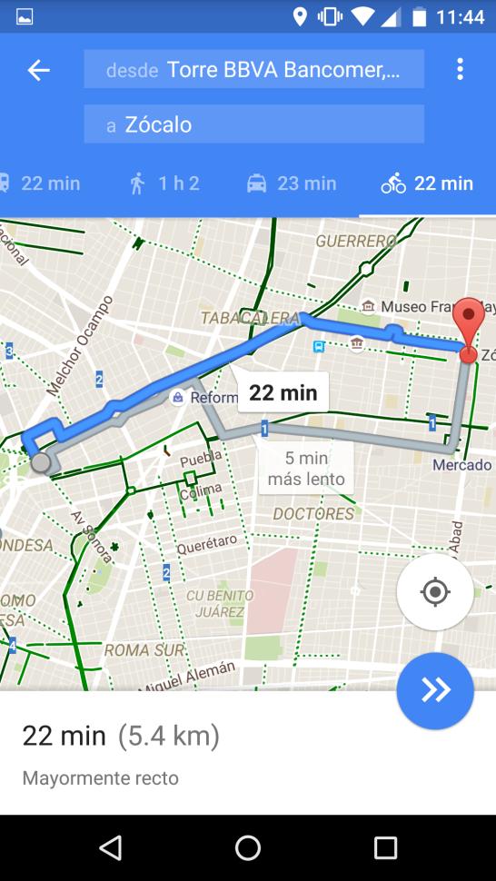 maps for bikes mexico